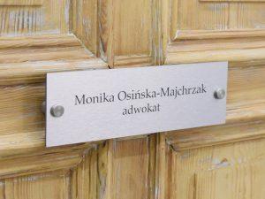 Rechtsanwalt Polen Monika Osińska-Majchrzak LL.M.